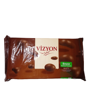Vizyon Select White Compound Chocolate - 2.5kg