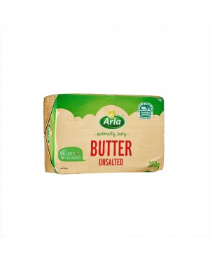 Arla Butter - Unsalted 200g (Available Only In-Store)