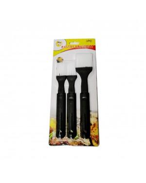 Set of Three (2) Pastry Brushes