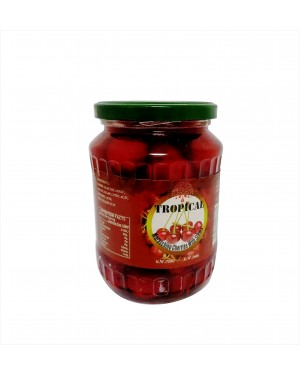 Tropical Cherries With Stems RED - 750g