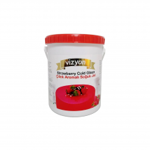 Vizyon Cold Glaze-Strawberry-2.5kg