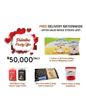 Valentine Pantry Offer - Plus Free Delivery Nationwide