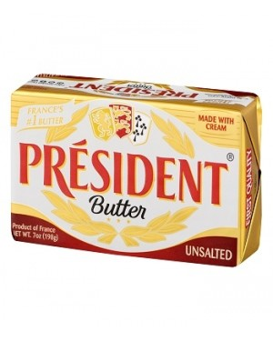 President Butter - Unsalted 200g (Available Only for Store Pick-Up)