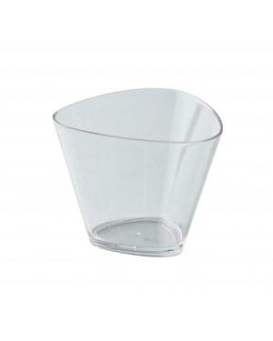 Soft Angle Dessert Cups With Lids 175ml - 100pcs